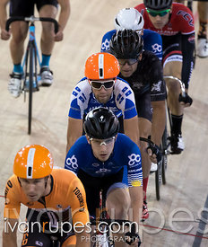 Men Omnium Scratch Race. Canadian Track Championships, Mattamy National Cycling Centre, Milton, On, September 25, 2016