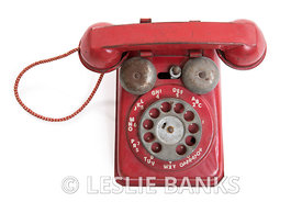 Vintage Toy Rotary Phone