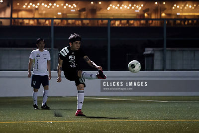 黑浪明星足球隊 Blackwave Football Team in action at Happy Valley on November 4, 2017 in Hong Kong