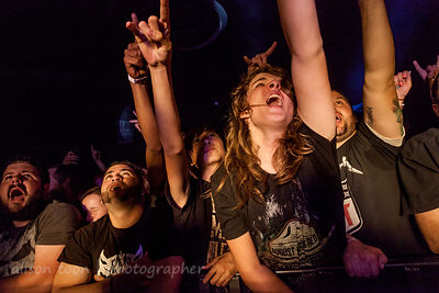 Front row fans, Killswitch Engage