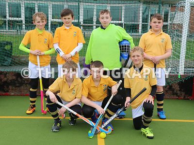U11 Hockey v Airthrie School. 3rd March 2017 photos