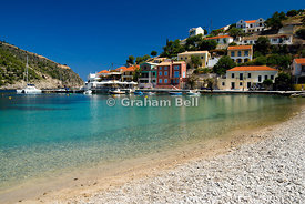 Assos, Kefalonia, Ionian Islands, Greece.