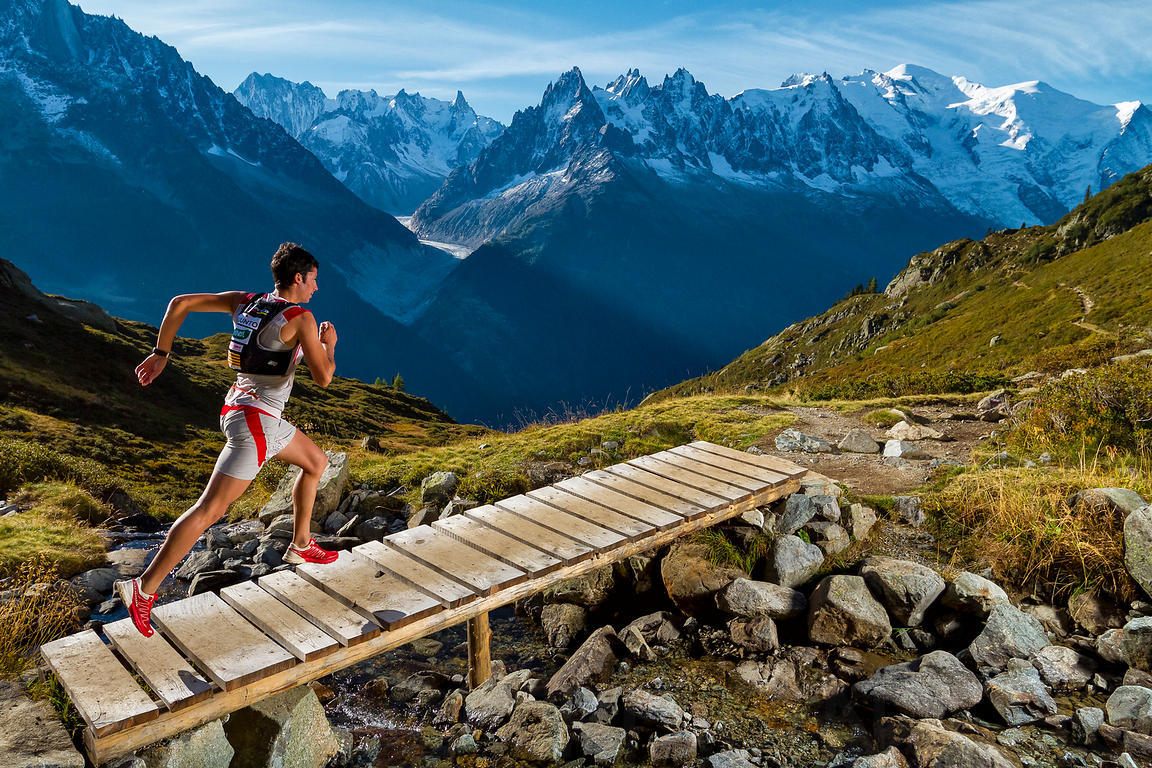 Kilian Jornet training in Chamonix