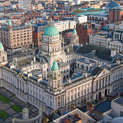 Belfast at Day aerial photos