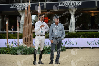 Andres RODRIGUEZ ,(VEN) during Queen's Cup - Segura Viudas Trophy competition at CSIO5* Barcelona at Real Club de Polo, Barcelona - Spain