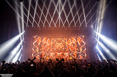 Excision - 1stBank Center 2016 photos