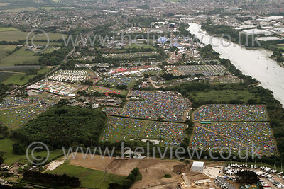 Isle of Wight Festival 2016 aerial photographs