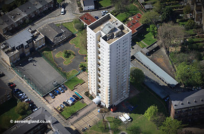 Rundell Tower Lambeth   London SW8  aerial photograph