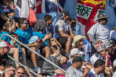 People watching Fiji v. Samoa, World Rugby Pacific Nations Cup