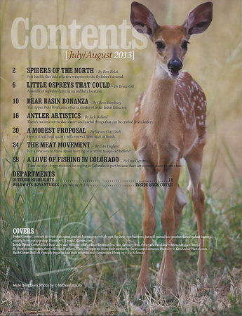Colorado Outdoors-July/August issue photos