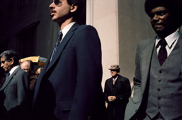 Four Suits, NYC, 1985