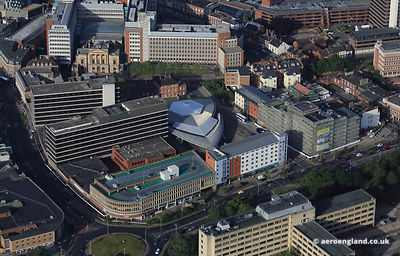 aerial photograph of Norwich Bus Station