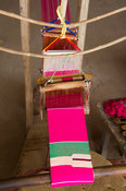 Kente cloth weaving, Tafi Abuipe, Ghana