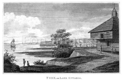 19th-century Oswego, New York during War of 1812