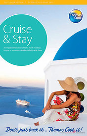 Cover of Thomas Cook cruise brochure