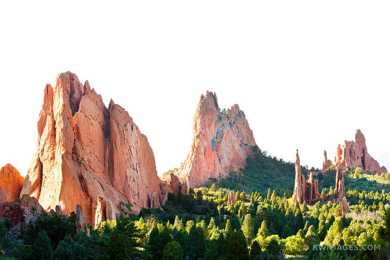 GARDEN OF THE GODS COLORADO SPRINGS COLORADO