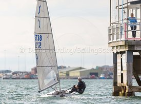 Solo 5738 racing in Poole Week 2017