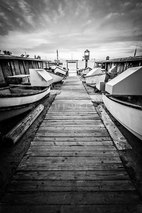 Image dory fishing fleet newport beach california large for Dory fishing fleet