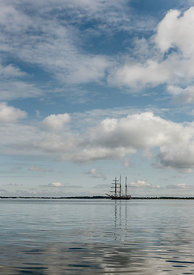 Tall ship on Limfjorden 2