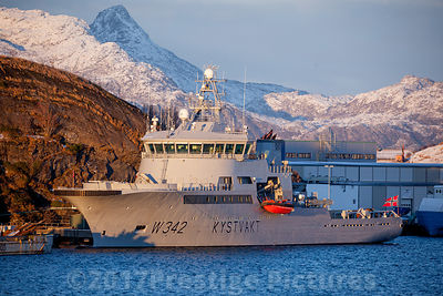 KV SORTLAND W342  operated for the Norwegian Coastguard by Remøy Management