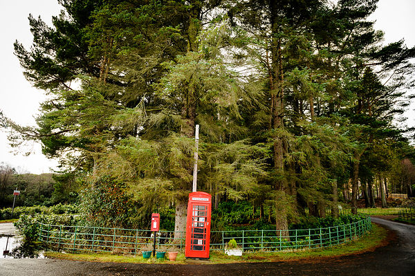 Rural Phone and Post Box
