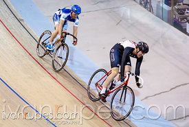 Men Sprint 3-4 Final. Track O-Cup #2, Milton, On, March 28, 2015