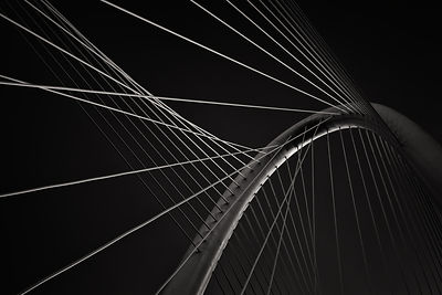 The Margaret Hunt Hill Bridge Cable Design