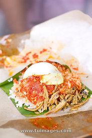 nasi lemak, local food