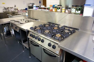 Hob in Day Centre Kitchen