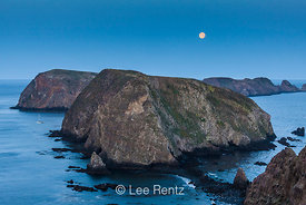 Early Morning View from Inspiration Point on East Anacapa Island