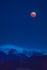 757 Blood Moon Over Silver Run Peak