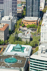 Pioneer Courthouse; Portland, Oregon