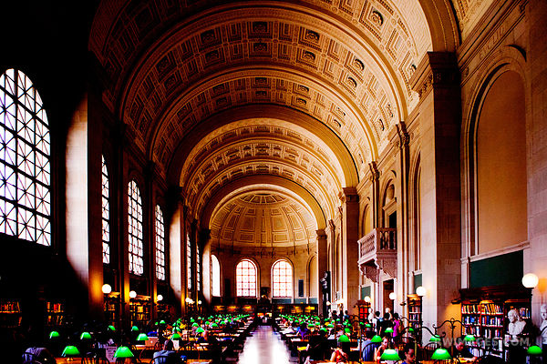 BOSTON PUBLIC LIBRARY COLOR