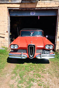 Orange 1958 Ford Edsel