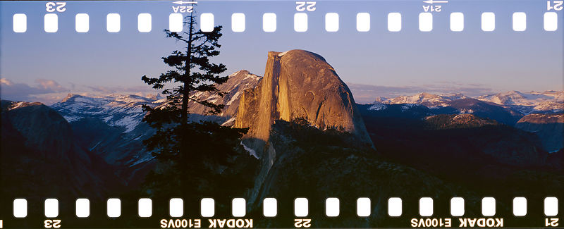 Glacier Point Vista on Film