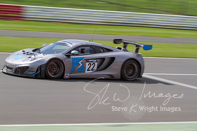 Preci-Spark McLaren 12C GT3 in action at the Silverstone 500 - the third round of the British GT Championship 2014 - 1st June 2014