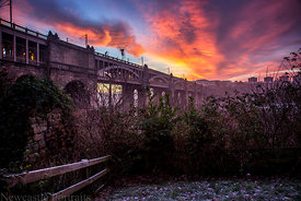 High Level Bridge Sunrise