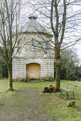 The Pigeon House. Painswick Rococo Garden, Painswick, Glos, UK