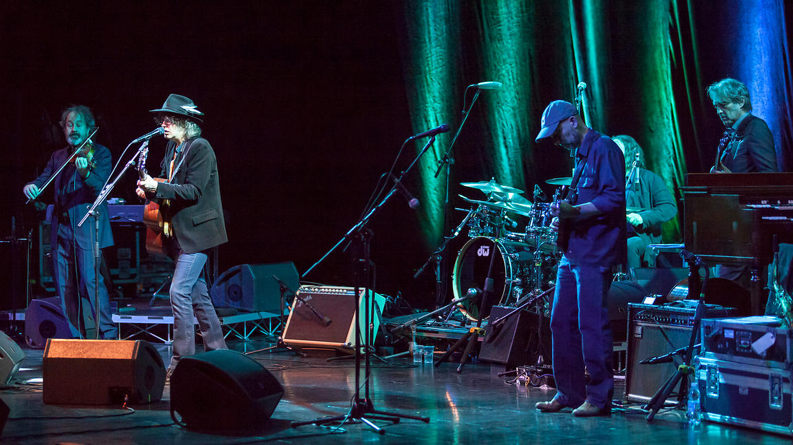 The Waterboys Fisherman's Blues Revisited Tour, Concert in Rome, Italy. 21st November 2013.