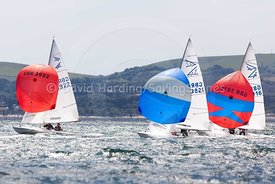 Flying Fifteens GBR3916, GBR3922 and GBR3821, 20170603187