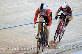 Master Women Sprint 1/2 Final. Ontario Track Provincial Championships, March 5, 2016