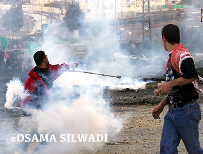 INTIFADA ... The Palestinian uprising against Israeli Occupation .