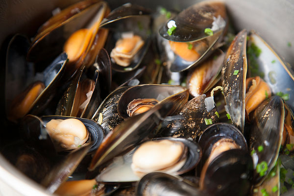 Mussels at Café Source