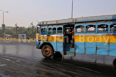 INDE, KOLKATA, CALCUTTA, CIRCULATION, BUS//INDIA, KOLKATA, CALCUTTA, TRAFFIC