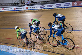 U17 Women Elimination Race. Canadian Track Championships (Jr, U17, Para), April 14, 2018