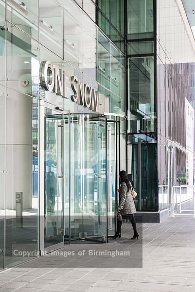 One Snowhill office development, Birmingham city centre, West Midlands, England.