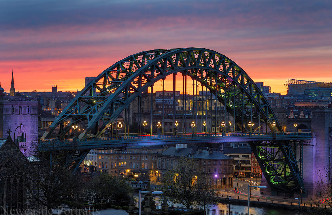 Newcastle Sunset