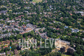 Aerial Photography Taken In and Around Esher, UK