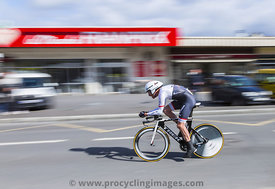 The Cyclist Gregory Rast - Paris-Nice 2016
