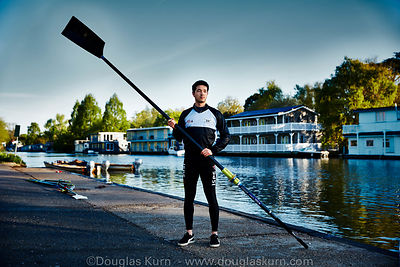 Arron, one of Molesey Boat Clubs men's rowing squad